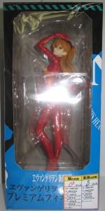 「エヴァンゲリヲン新劇場版 プレミアムフィギュア Vol.2『式波・アスカ・ラングレー』」を売って貰いました。